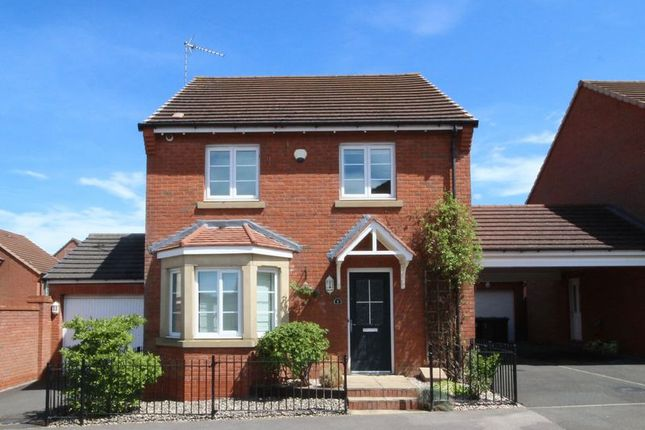Thumbnail Detached house for sale in Lune Way, Bingham, Nottingham
