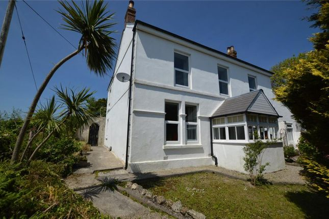 Thumbnail Detached house for sale in Rose-An-Grouse, Canonstown, Hayle, Cornwall
