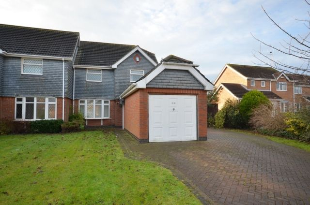 Thumbnail Semi-detached house to rent in Sweetbriar Close, Waltham, Grimsby