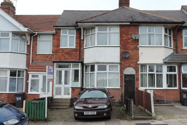Thumbnail Town house to rent in Gwendolen Road, Leicester