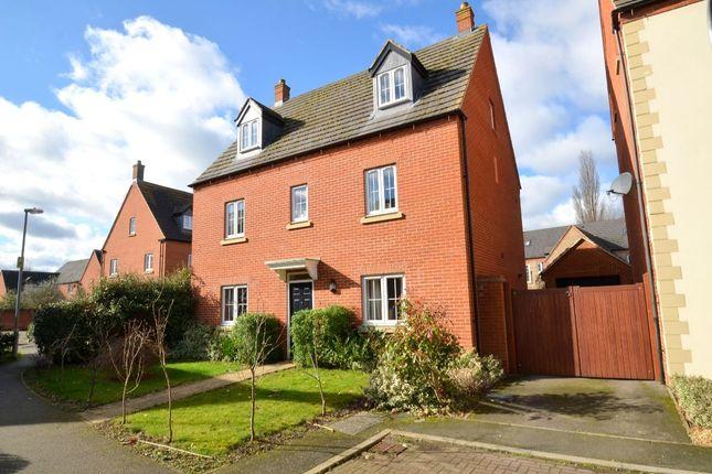 Thumbnail Detached house for sale in Chainbridge Court, Thrapston, Kettering