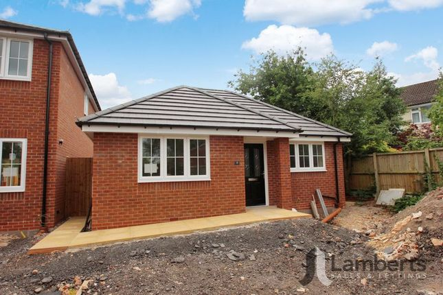 Thumbnail Detached bungalow for sale in Railway Close, Studley