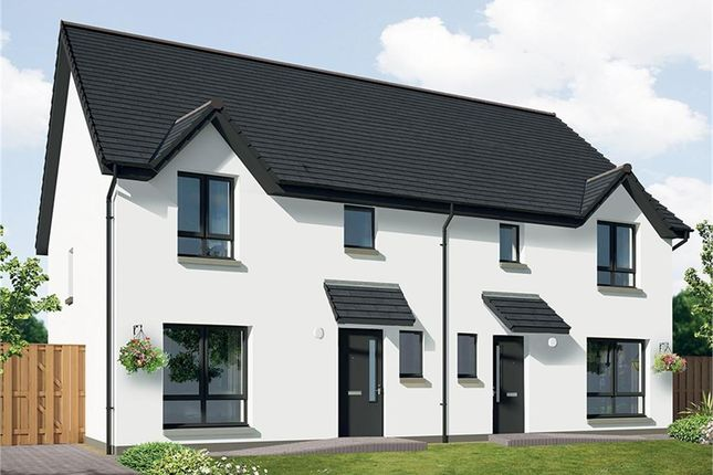 Thumbnail Semi-detached house for sale in Acremoar Drive, Kinross