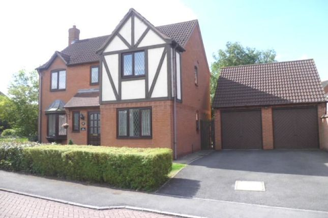 Thumbnail Detached house to rent in Lawrence Close, Leicester