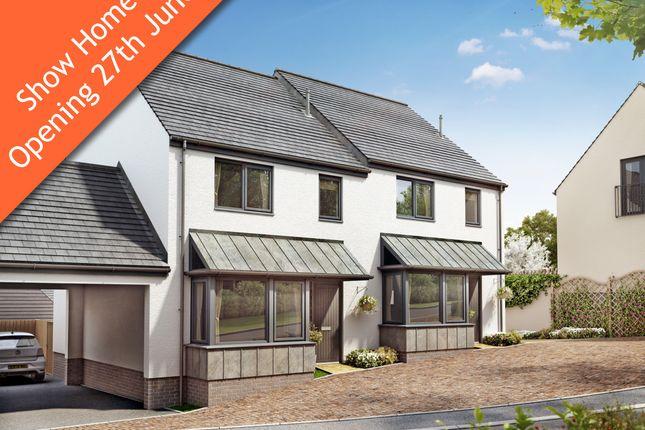 Thumbnail Semi-detached house for sale in Malborough Park, Malborough, Kingsbridge