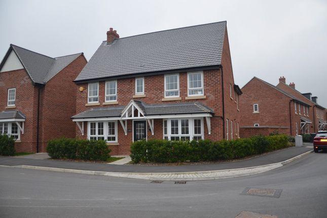 Thumbnail Detached house for sale in Holland Crescent, Ashby De La Zouch