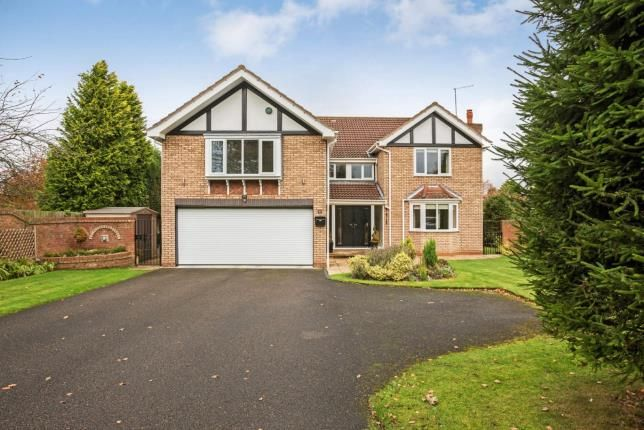 Thumbnail Detached house for sale in Middle Drive, Ponteland, Newcastle Upon Tyne, Northumberland