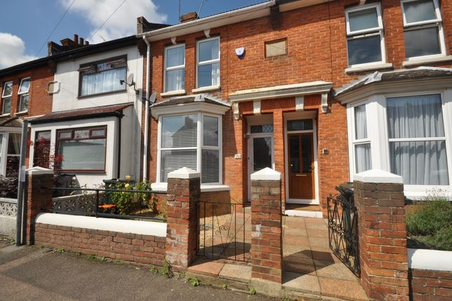 Thumbnail Terraced house to rent in Francis Road, Ashford