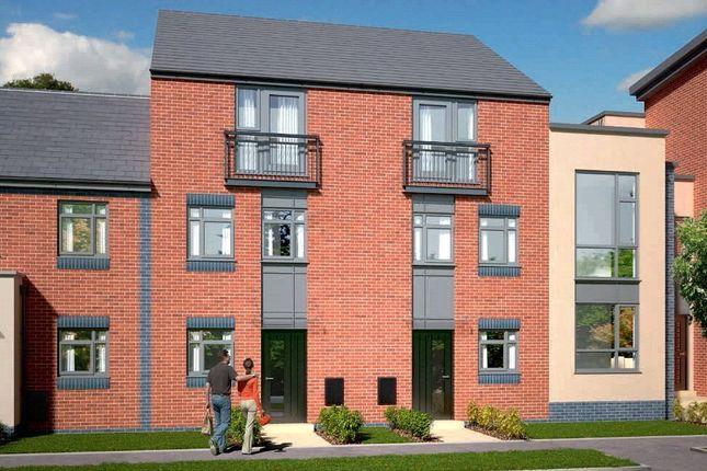 Thumbnail Town house for sale in The Dawlish - Plot 422, Johnsons Wharf, Leek Road, Hanley, Stoke On Trent