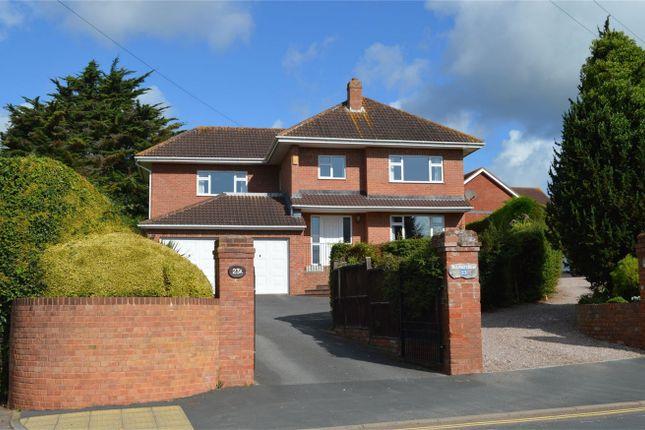 Thumbnail Detached house for sale in Douglas Avenue, Exmouth, Devon