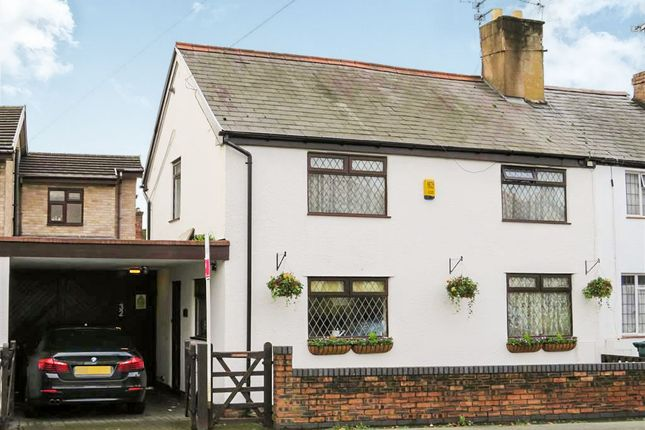 Thumbnail End terrace house for sale in Whitchurch Road, Great Boughton, Chester