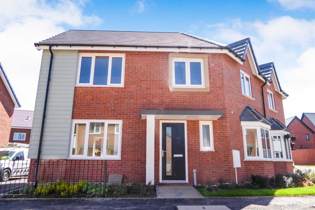 Thumbnail Semi-detached house to rent in Shetland Close, Brook Vale, Mansfield