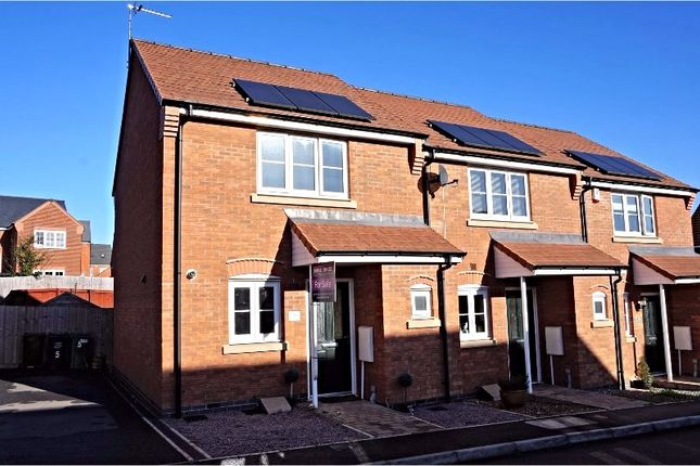 Thumbnail End terrace house for sale in Gifford Close, Leicester