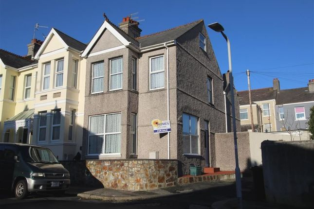 Thumbnail End terrace house for sale in Meredith Road, Peverell, Plymouth