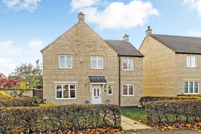 Thumbnail Detached house to rent in Teasel Way, Brize Norton, Carterton, Oxfordshire