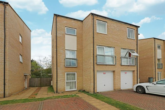 Thumbnail Semi-detached house for sale in Aviation Avenue, Hatfield