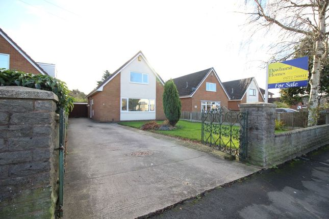 Thumbnail Detached house for sale in Dovedale Avenue, Ingol, Preston