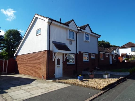 Thumbnail Semi-detached house for sale in Abbotts Close, Runcorn, Cheshire