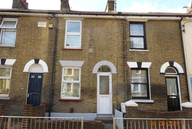 Thumbnail Terraced house to rent in Luton Road, Chatham