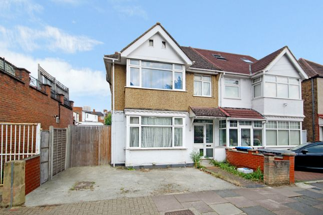 Thumbnail Semi-detached house to rent in Npier Road, Wembley, Middlesex