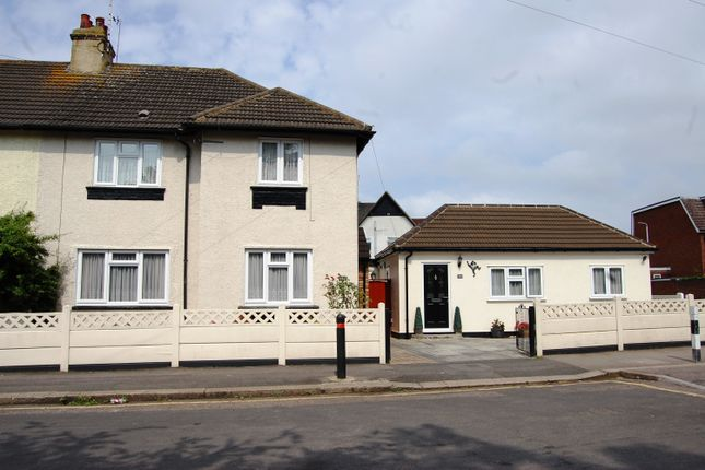 Thumbnail Semi-detached house for sale in Queens Park Road, Harold Wood