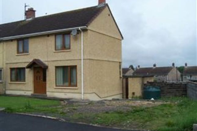 Thumbnail Semi-detached house to rent in Rhosnewydd, Tumble, Tumble