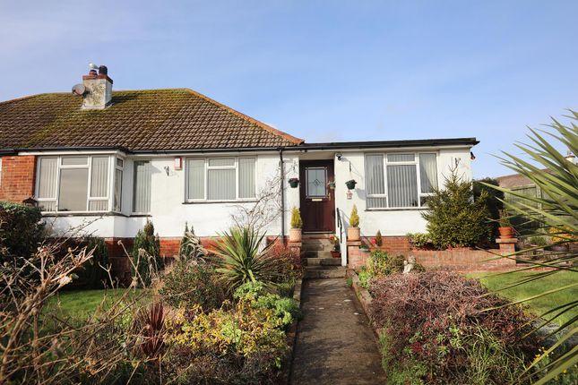 Thumbnail Semi-detached bungalow for sale in David Road, Paignton