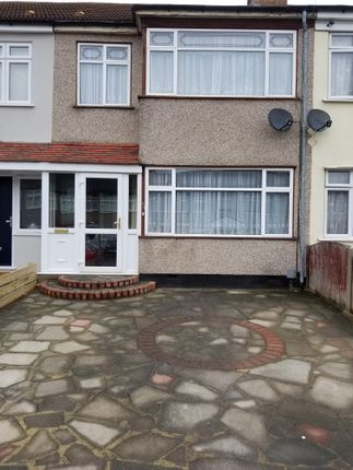Thumbnail Terraced house to rent in Hulse Avenue, Ramford
