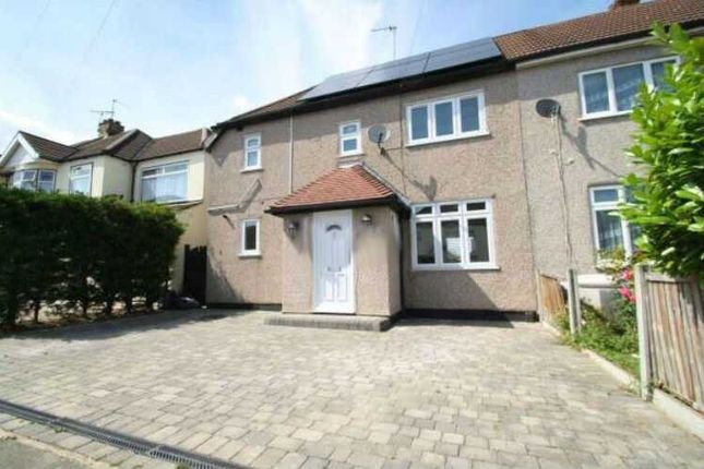 Thumbnail Semi-detached house to rent in Heaton Avenue, Harold Hill, Romford