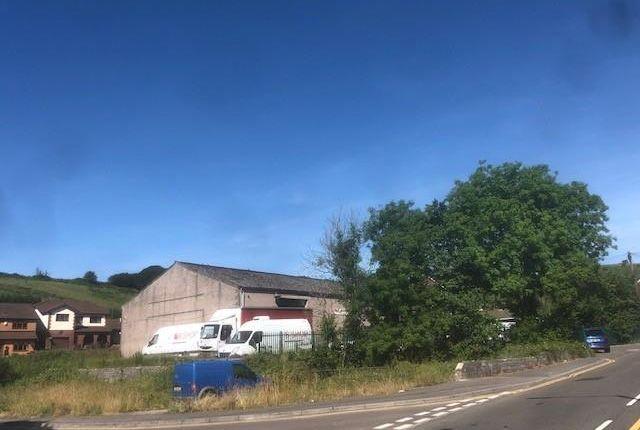 Thumbnail Land for sale in The Fruit Warehouse, Penrhiwfer Road, Tonyrefail, Rhondda Cynon Taf