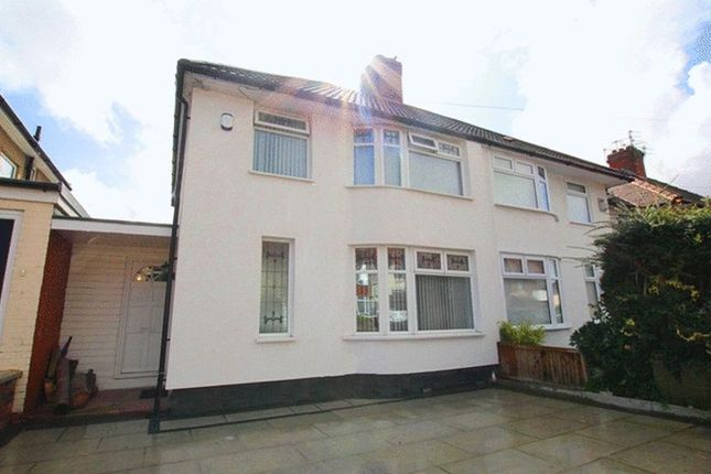 Thumbnail Semi-detached house for sale in Northmead Road, West Allerton, Liverpool