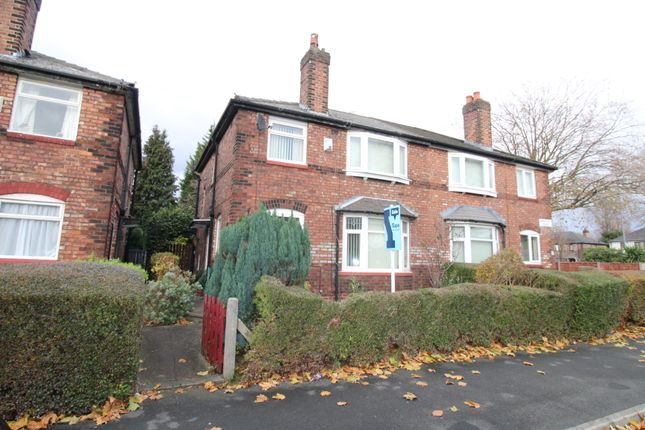 Thumbnail Semi-detached house for sale in Brayside Road, Withington, Manchester