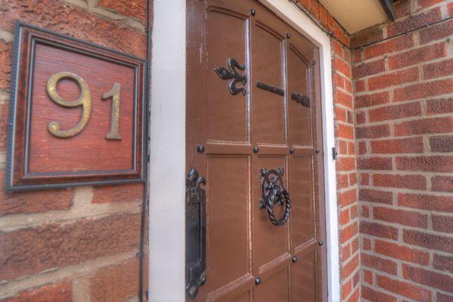 Front Door of Scraptoft Lane, Humberstone, Leicester LE5
