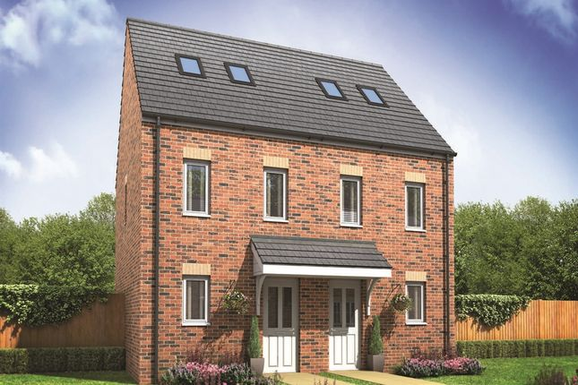 """Thumbnail 3 bedroom terraced house for sale in """"The Moseley """" at Haverhill Road, Little Wratting, Haverhill"""