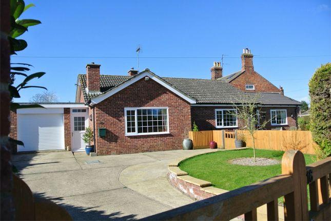 Thumbnail Detached bungalow for sale in Chapel Street, Billingborough, Sleaford, Lincolnshire