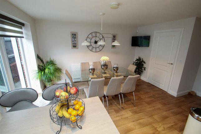 Kitchen/Diner of Ostler Drive, Weston Coyney, Stoke-On-Trent ST3