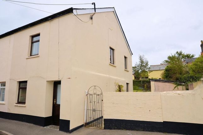 Thumbnail End terrace house for sale in Chapel Street, Bere Alston, Yelverton