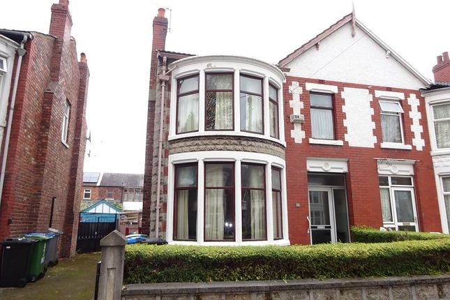 Thumbnail Semi-detached house for sale in Plumbley Drive, Old Trafford, Manchester.