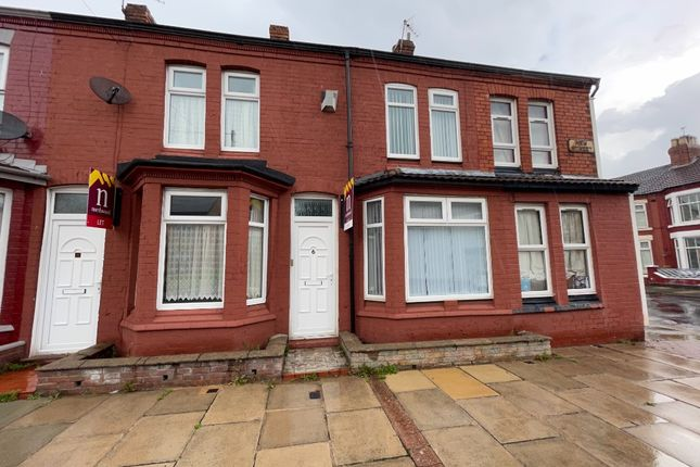 Thumbnail Terraced house to rent in New Street, Wallasey, Wirral