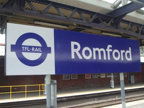 Romford Station of Hyde Close, Romford RM1