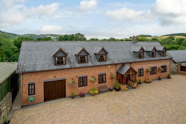 Thumbnail Detached house for sale in Llanidloes Road, Newtown, Powys