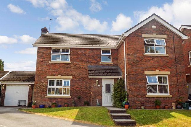 Thumbnail Detached house for sale in Dyffryn Woods, Bryncoch, Neath, Neath Port Talbot.