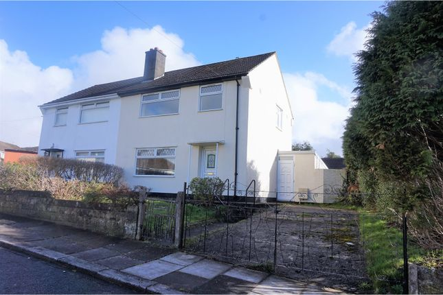 Thumbnail Semi-detached house for sale in Heol Miles, Pontyclun