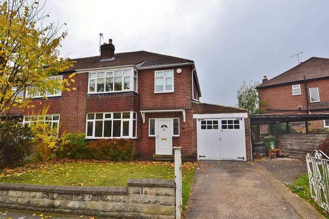 Thumbnail Semi-detached house to rent in Oakwell Oval, Oakwood, Leeds