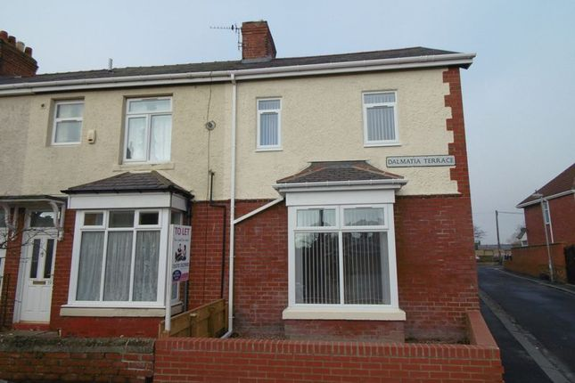 Thumbnail End terrace house to rent in Dalmatia Terrace, Blyth