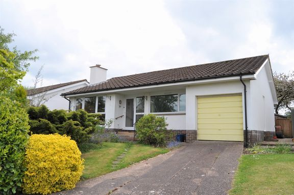 3 bed detached bungalow for sale in Wellands Close, Uffculme, Cullompton