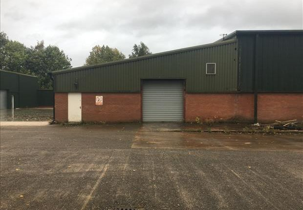 Thumbnail Light industrial to let in Unit 2 Woodford Park, Winsford, Cheshire