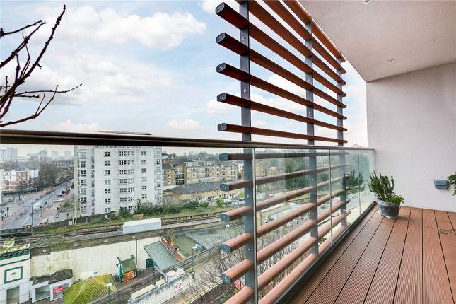 Balcony of Ireton House, 3 Stamford Square, London SW15