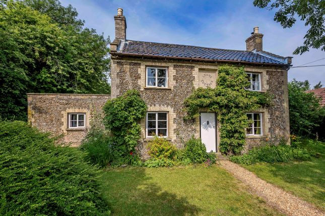 Thumbnail Detached house for sale in Low Road, Forncett St. Peter, Norwich