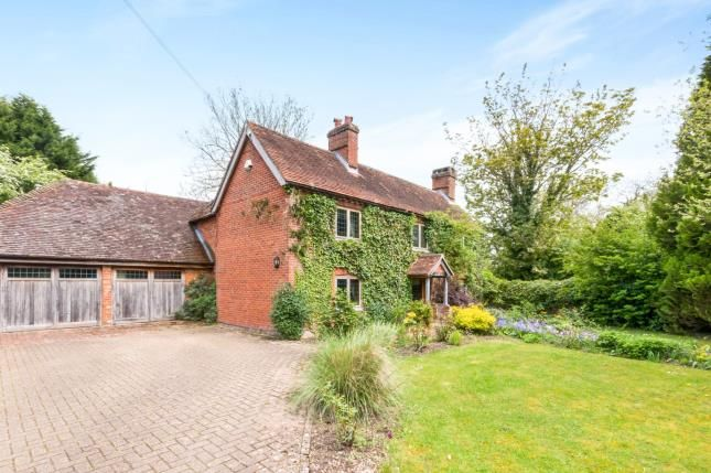 Thumbnail Detached house for sale in Greywell, Hook, Hampshire